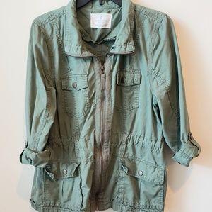 Jade and Ivory green jacket